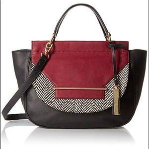 Vince Camuto Eda / Color Block / Satchel Handbag